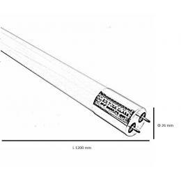 Tubo Led 18W 1800lm Cristal 300° IP20 120cm - Imagen 2