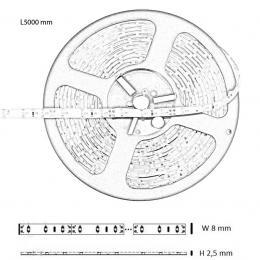 Tira Led Flexible Exterior 4.8W*5m IP65 - Imagen 2