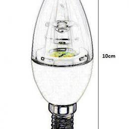 Bombilla led vela 5w 532lm 270º IP20 E14 - Imagen 2