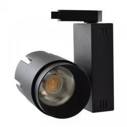 Foco LED 35W LARA BLACK para Carril Trifásico 24º - Imagen 1