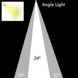 Foco LED 30W LIMA para Carril TRIFASICO 24º - Imagen 2