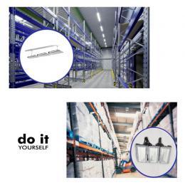 Campana DIY 100W 120º 3000K SMD 3030 -3D- - Imagen 2