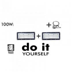 Campana DIY 100W 60º 3000K SMD 3030 -3D-