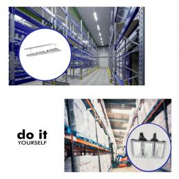 Campana DIY 100W 60º 3000K SMD 3030 -3D- - Imagen 2