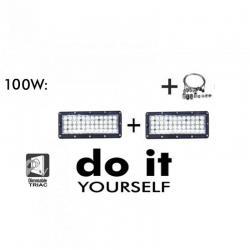 Campana DIY 100W 60º 6000K SMD 3030 -3D-