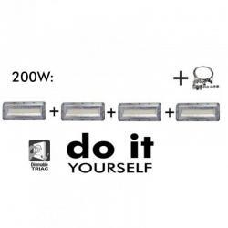 Campana DIY 200W 120º 3000K SMD 3030 -3D-