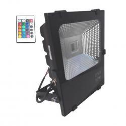 Foco Proyector Exterior LED 50W RGB PROFESIONAL - Imagen 1
