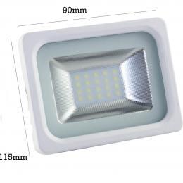 Foco Proyector Exterior Blanco10W IP65 Elegance 3030-3D - - Imagen 2