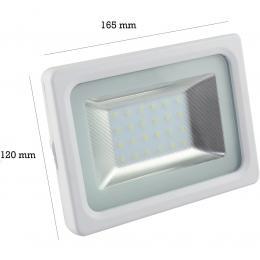 Foco Proyector Exterior Blanco 20W IP65 Elegance 3030-3D - - Imagen 2