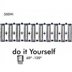 Proyector LED DIY 500W 120º 6000K SMD 3030 -3D - Imagen 1