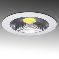 Downlight Led Circular COB Difusor Transparente 15W 1200Lm Ø178mm