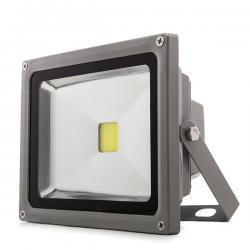 Foco Empotrable LED IP67 0,9W RGB 12VDC con Cable 1M/Conector Macho