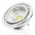 Bombilla LED AR111 COB Dimable con Driver Externo 12W 1000Lm