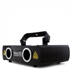 Efecto Laser Rojo/Azúl 200mW (100+100mW) 470nm - Imagen 1