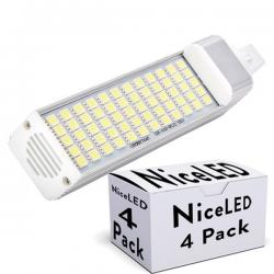 PACK LÁMPARAS G24 60 LED 12W 1000LM SMD5050